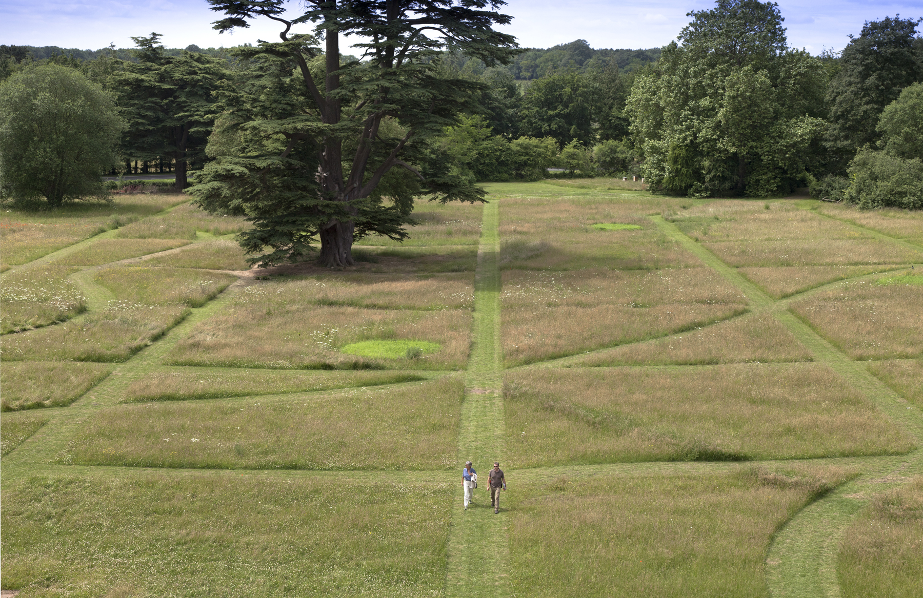 Parterre image by Jamie Woodley © Compton Verney 2015